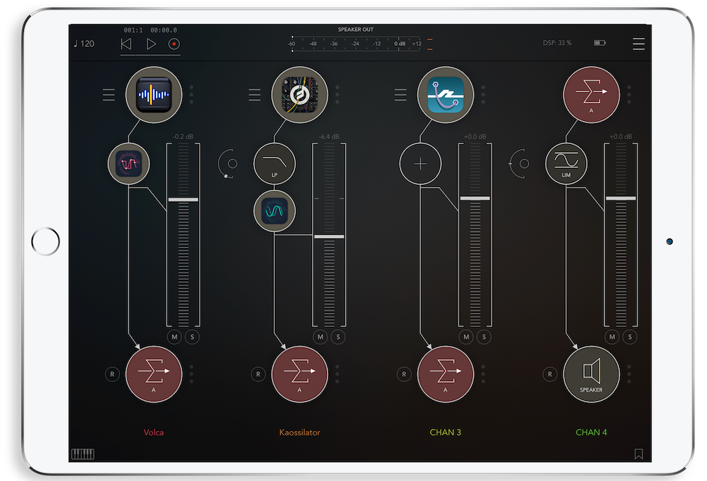 AudioBus vs AUM Mixer App iPad