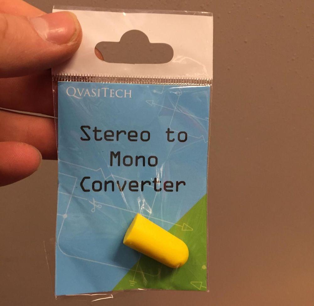 Stereo-to-mono-compressor